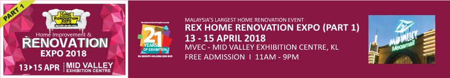 REX Renovation Expo - Part 1 April 2018 Year 2018 Past Listing