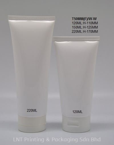 T50 WHITE SOFT TUBE WHITE FLIP CAP
