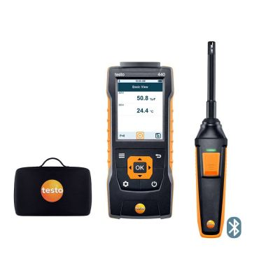 testo 440 | Humidity Kit with Bluetooth® [SKU 0563 4404]