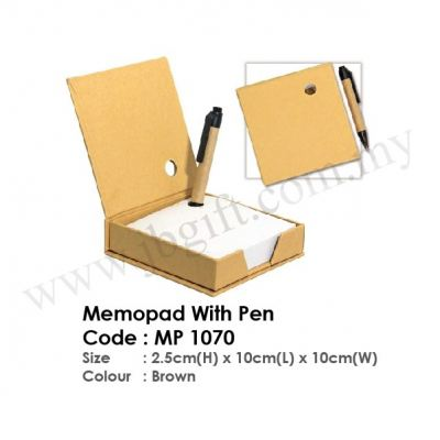 Memopad With Pen MP 1070