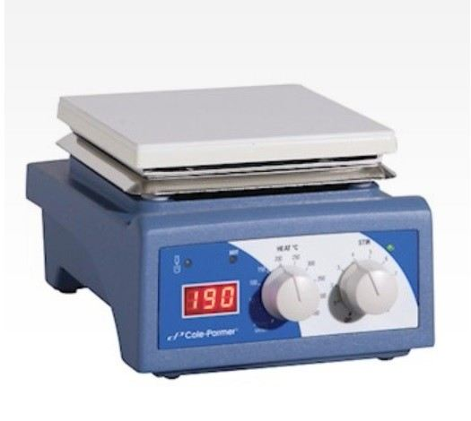 "04801-66 - Advanced Digital Stirring Hot Plate, ceramic, 6"" x 6"", 230 VAC Digital Stirring Hot Plate Cole-Parmer"