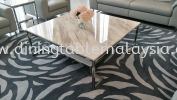 WHITE MARBLE COFFEE TABLE - VOLAKAS MARBLE Marble Coffee Table