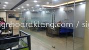 Emperor Group office in door frosted Sticker at bukit tinggi botanic klang Frosted Sticker