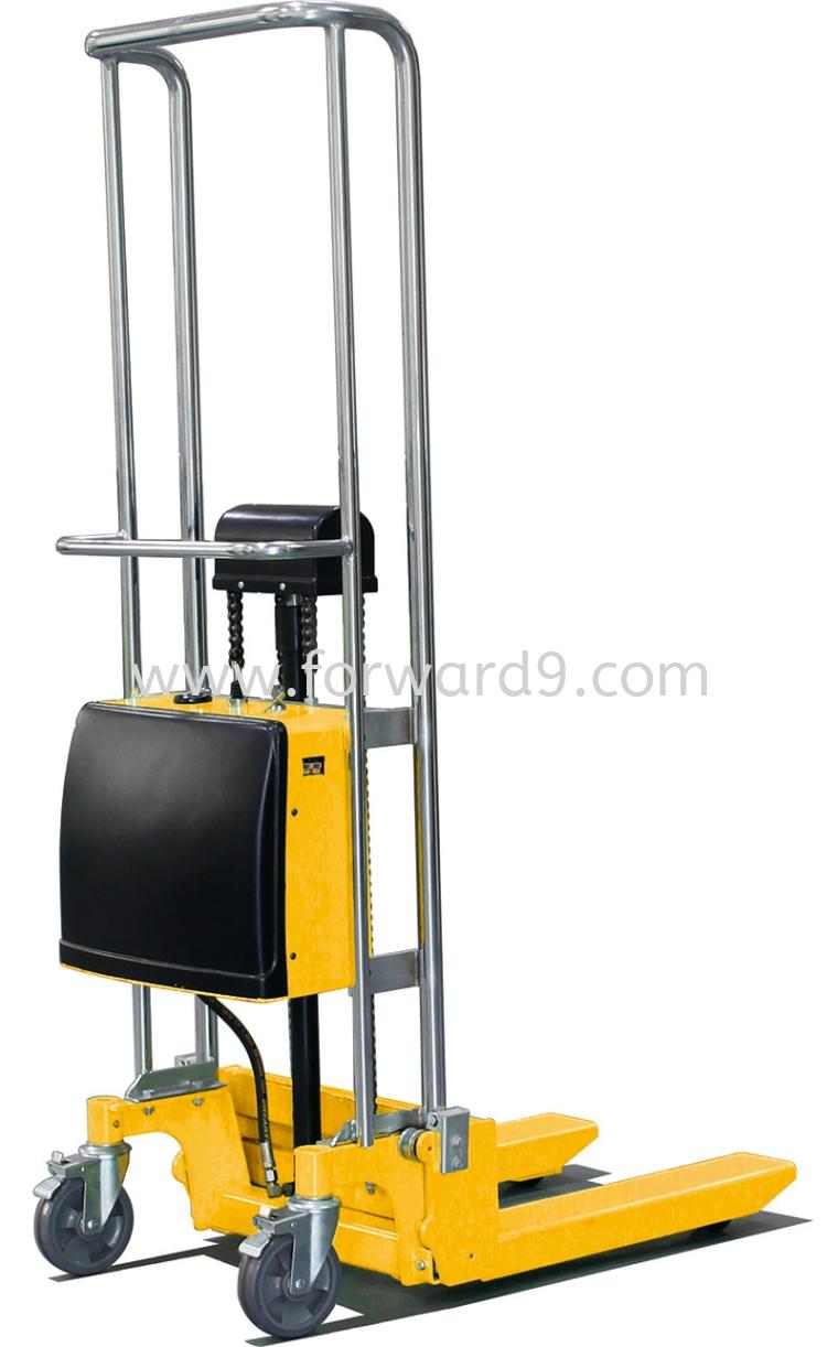 SES-Q 0411 Semi Electric Platform Stacker  Semi Electric Stacker  Electric Stacker  Material Handling Equipment