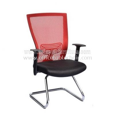 BEVERLY VISITOR MESH CHAIR WITH CHROME CANTILEVER BASE ABV-B3