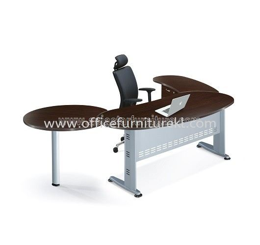 AMJ-180KT KIDNEY SHAPE TABLE SET - FRONT