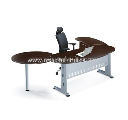 AMJ-180KT KIDNEY SHAPE TABLE SET - FRONT