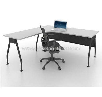 MAML 8656 EXECUTIVE L-SHAPE TABLE INTERNAL - GREY