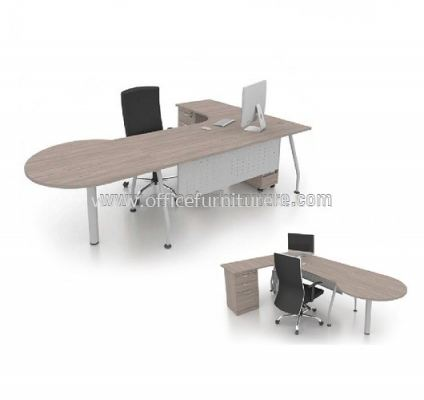 MA EXECUTIVE TABLE WITH ROUND TOP