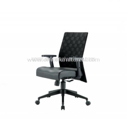 WEAVY ACL 2277 LOW BACK CHAIR ACL WITH WEAVE DESIGN