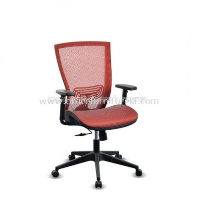 BEVERLY FULL MESH LOW BACK CHAIR WITH PP ABV-C2