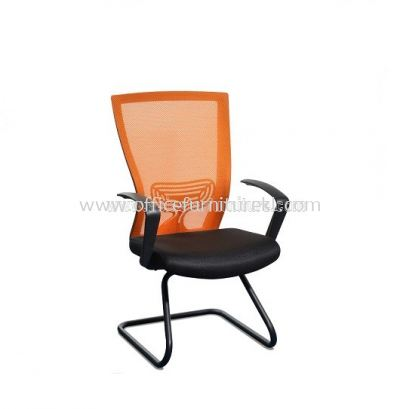 BEVERLY MESH VISITOR CHAIR WITH EPOXY ABV-A3