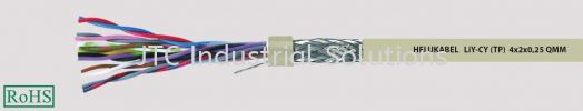 LiY-CY(TP) (Flexible, Cu-screened, colour coded to DIN 47100, EMC friendly, meter marking) Data and Signal Cables/Wire HELUKABEL (Wire & Cabel)