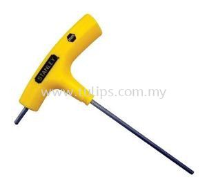 2-Way T-handle Ball-point Hex Key-Yellow
