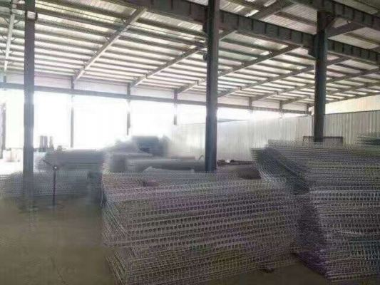 Expanded metal netting for guarding mesh