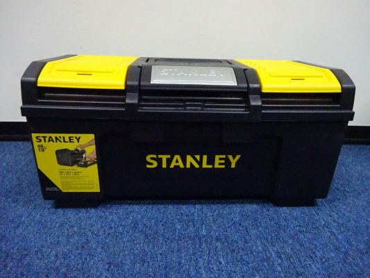 "STANLEY STST19400 19"" METAL LATCH PLASTIC TOOL BOX"