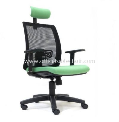 RIPON HIGH BACK MESH CHAIR WITH POLYPROPYLENE BASE ASE 2785