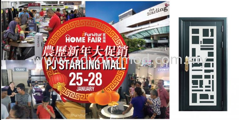 25-28 January Visit Advanz Mod Booth B78 At IFurniture Home Fair Held At PJ STARLING MALL. With Chinese New Year Package Rm88 Only...