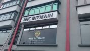 MK BITMAIN EG BOX UP SIGNAGE AT CHERAS EG Box Up