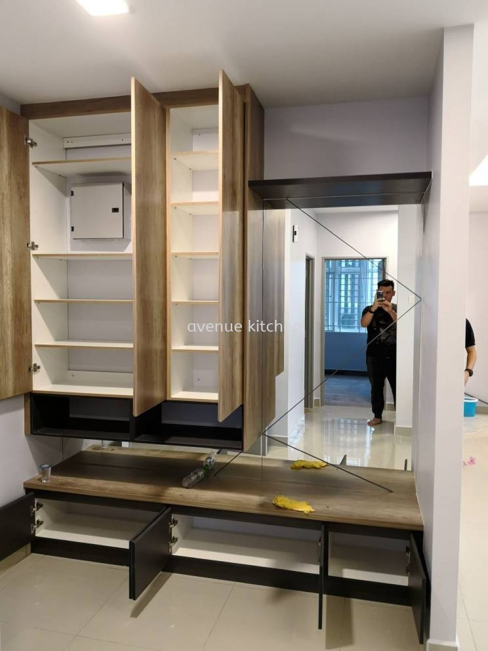 DWIPUTRA shoe cabinet Supplier, Supply, Design, Services  ~ Avenue Kitchen Cabinet