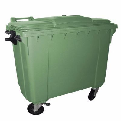 4 Wheels Polythene Bin