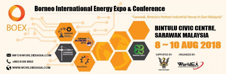 Borneo International Energy Expo & Conference 2018 August 2018 Year 2018 Past Listing