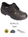 SH-13P-BK S1 ESD Safe Safety Shoes