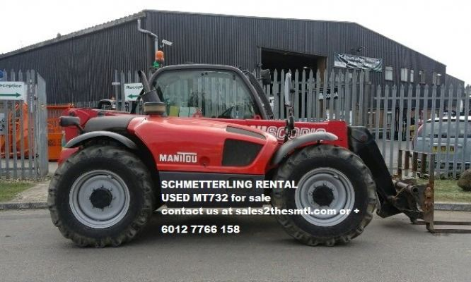 USED MANITOU MT732
