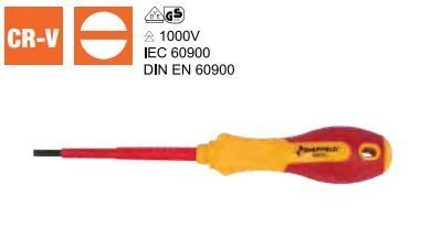 VDE Slotted Screwdriver (S057301 - S057304)