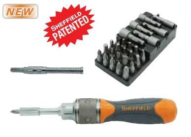 2X Speed Ratchet Screwdriver Set (T056510)