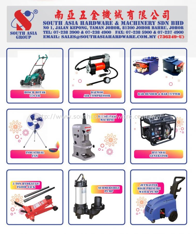 PROMOTION! COME AND GET MORE DISCOUNT...
