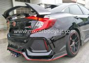 HONDA CIVIC 2016 FC ORI TYPE SPOILER WTIH SIDE CARBON COVER