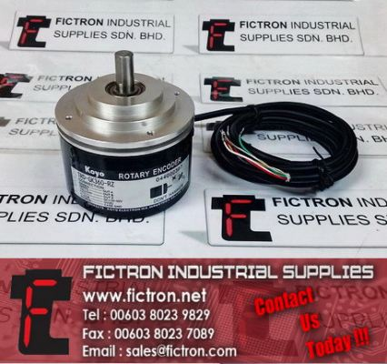 TRD-GK360-RZ KOYO Rotary Encoder Precision Optical Encoder Supply by Fictron Industrial Supplies