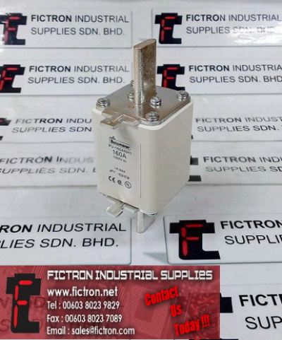 PV-160ANH1 COOPER BUSSMANN 160A 1000VDC gPV Square Body Fuse Supply by Fictron Industrial Supplies