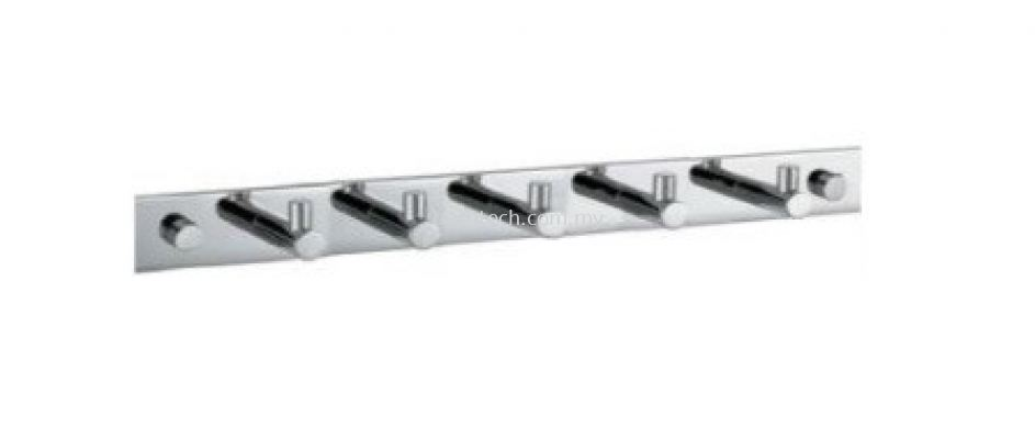 AR-8156-5 Row of 5 Towel Hooks