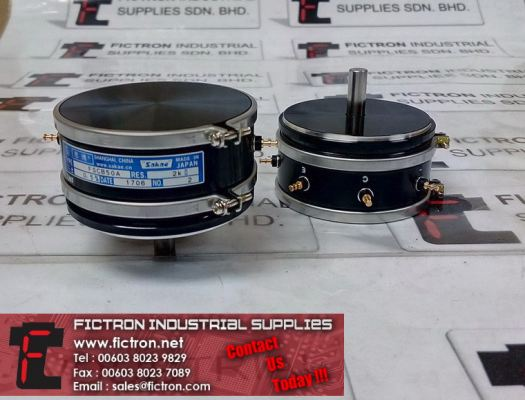 FSCB50A SAKAE 2K Ohm 0.5% Precision Potentiometer Supply By Fictron Industrial Supplies