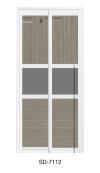 SD 7112 Slide / Swing Doors