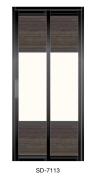SD 7113 Slide / Swing Doors