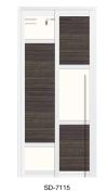 SD 7115 Slide / Swing Doors