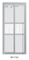 SD 7123 Slide / Swing Doors