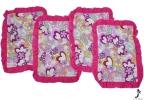 PILLOW CASE TC FLOWER (4PCS) Bed Pillow Cover