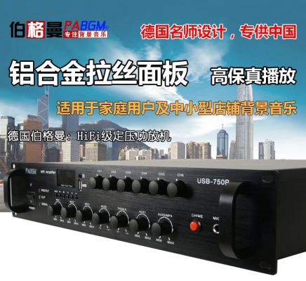 BGM 100W power amplifier(USB-100P)