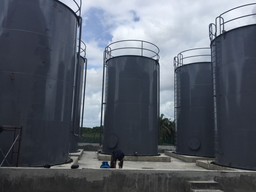Oil Storage Tank Design , Engineering And Commissioning