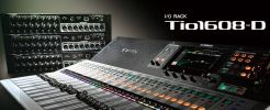 Yamaha Tio1608-D I/O Box (Dante)-16 i/p and 8 o/p mixing console Yamaha Digital Mixing Console Yamaha Audio and Visual