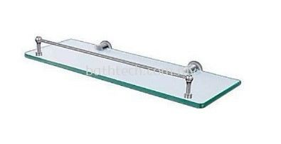 AR-530S-CP Glass Shelf with Skirting