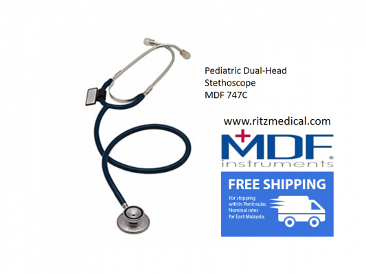 Stethoscope  Pediatric Dual-Head  MDF 747C