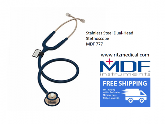 Stethoscope Stainless Steel Dual-Head  MDF 777