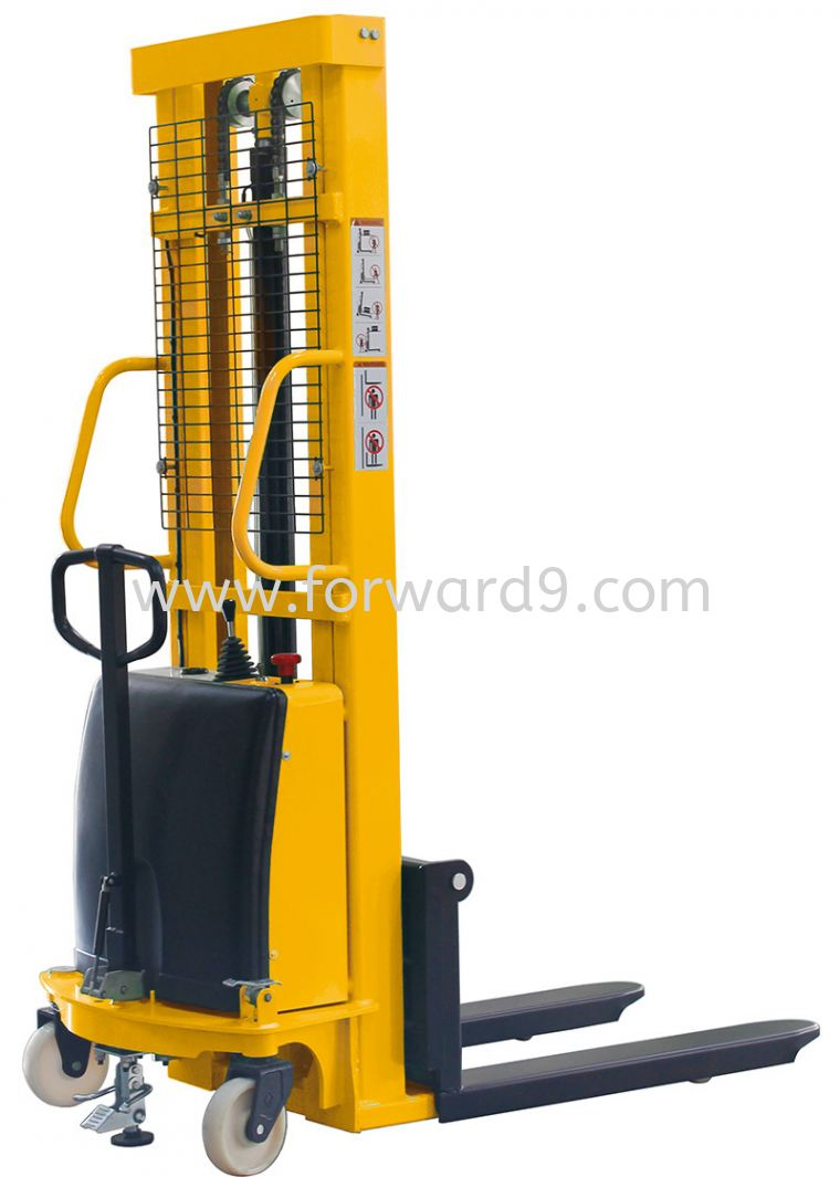SES 1520 Semi Electric Stacker  Semi Electric Stacker  Electric Stacker  Material Handling Equipment