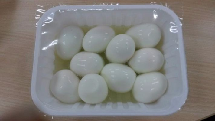 Peeled Off Chicken Eggs - 15pcs