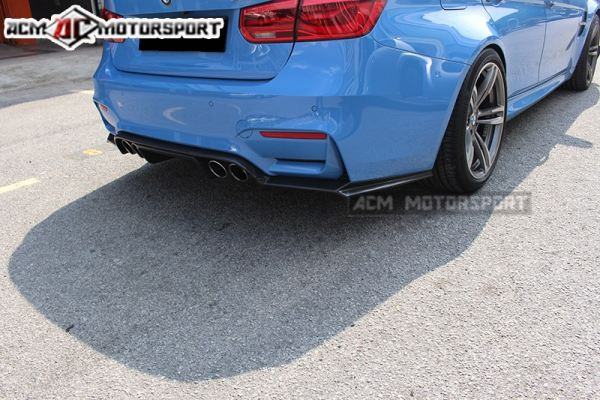 BMW F80 M3 rear carbon difusser